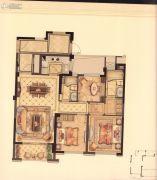 华鸿・艺墅3室2厅2卫89平方米户型图