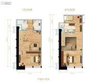 名城广场3室2厅2卫0平方米户型图