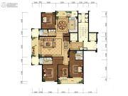 天都城・天熙公馆4室2厅2卫198平方米户型图