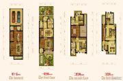 翰林世家4室4厅5卫220平方米户型图