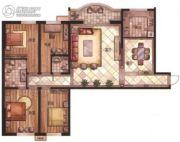 华富・瑞士名居4室2厅2卫0平方米户型图