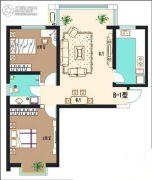 西固百合苑2室2厅1卫0平方米户型图
