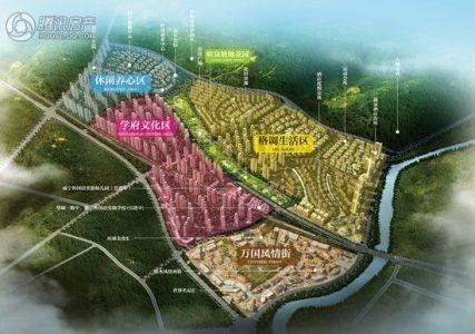 小镇城市设计平面图