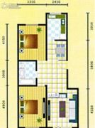 嘉德国际二期2室2厅1卫0平方米户型图