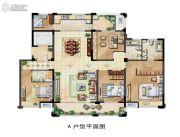 保利香槟国际5室1厅2卫194平方米户型图