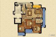 长峙岛・香芸园3室2厅2卫133平方米户型图