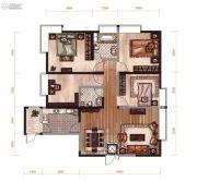 昆明广场4室2厅2卫136平方米户型图
