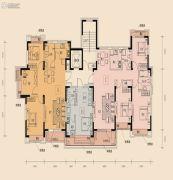 中铁丁香水岸1室1厅1卫36平方米户型图