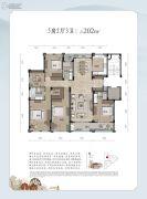 和家园・雍园5室2厅3卫0平方米户型图