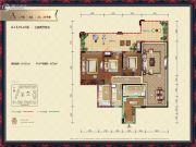 中德英伦联邦3室2厅2卫101平方米户型图