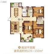 龙之光・国际中心3室2厅2卫0平方米户型图
