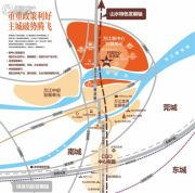 金地・艺境水岸规划图