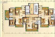 兴业花园3室2厅2卫123平方米户型图