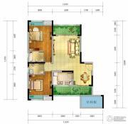 香颂湾Ⅱ期左岸香颂3室2厅2卫102--116平方米户型图