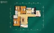 中建宜城春晓3室2厅0卫112平方米户型图