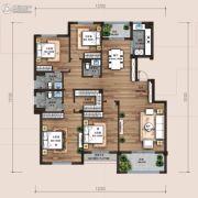 万科翡翠云台4室2厅3卫179平方米户型图