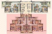 保利林语3室2厅1卫108平方米户型图