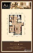 尚峰・红墅湾2室2厅1卫100平方米户型图