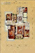 锦绣山河五期4室2厅3卫0平方米户型图