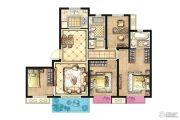 招商兰溪谷4室2厅2卫120平方米户型图