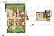 中航城4室2厅2卫190平方米户型图