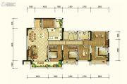 北京城建龙樾熙城4室2厅2卫142平方米户型图