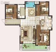 永威城3室2厅2卫137平方米户型图