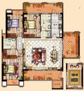 充耀盛荟3室2厅2卫157平方米户型图
