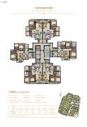 兰亭盛荟85--106平方米户型图