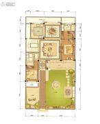 绿城・临海玫瑰园175平方米户型图