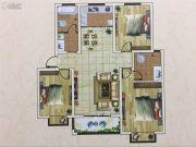 六和世家3室2厅2卫136--137平方米户型图