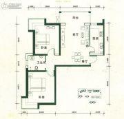 金汇广场2室2厅1卫91--96平方米户型图