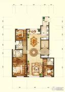 天润・香墅湾1号3室2厅3卫180平方米户型图