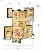 中国铁建・北京山语城0室0厅0卫160平方米户型图