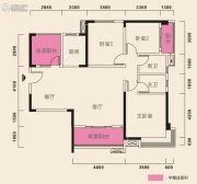 在水一方3室2厅2卫140平方米户型图