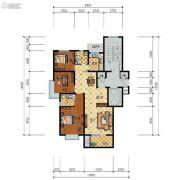 步阳江南甲第3室2厅1卫112平方米户型图