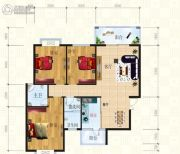 锦天・生态城3室2厅2卫131平方米户型图