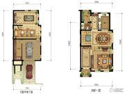 华升南山郡5室4厅4卫320平方米户型图