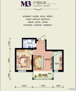 天悦国际1室1厅1卫0平方米户型图
