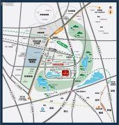 万科中天城市花园交通图