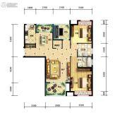 江陵・阳光华府3室2厅2卫110平方米户型图