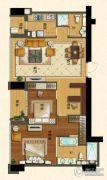 苏宁广场2室2厅1卫139平方米户型图