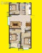 安泰・未来城3室3厅2卫112平方米户型图