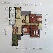 金地艺境4室2厅2卫145平方米户型图