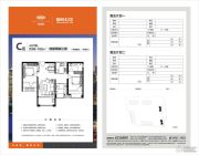 中航城・国际社区3室2厅2卫98--102平方米户型图