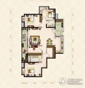 美岸观邸5室2厅2卫163平方米户型图