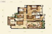紫御江山4室2厅2卫0平方米户型图
