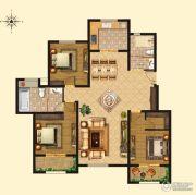浩创梧桐郡3室2厅1卫149平方米户型图