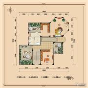 浪琴湾2室0厅1卫128平方米户型图