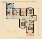 龙城华府4室2厅2卫128平方米户型图